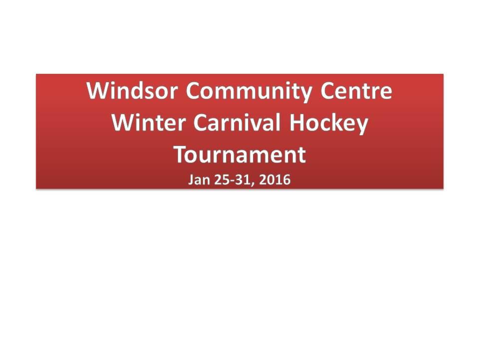 Winter Carnival Tournament