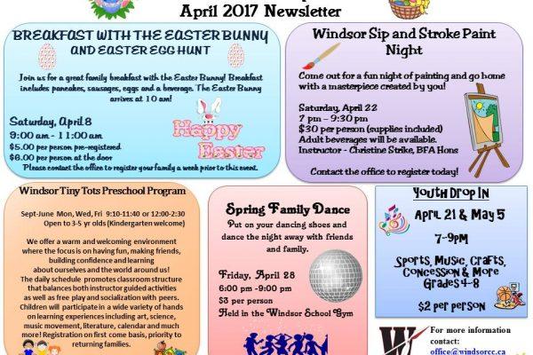 April 2017 Flyer